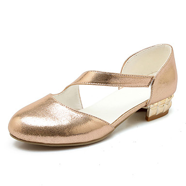Ženske cipele-Ravne cipele-Vjenčanje / Ured i karijera / Formalne prilike / Ležerne prilike / Zabava i večer-Umjetna koža-Niska potpetica-