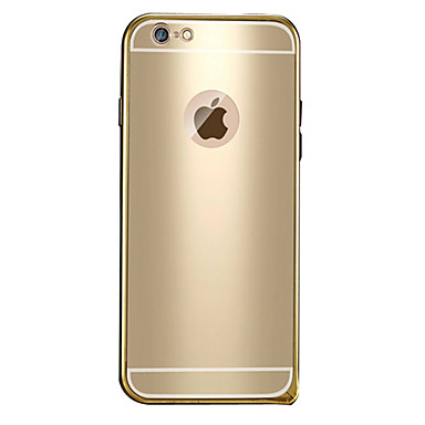 Etui Til Apple iPhone 6 Plus / iPhone 6 Belegg / Mønster Bakdeksel Ensfarget Hard Metall til iPhone 6s Plus / iPhone 6s / iPhone 6 Plus