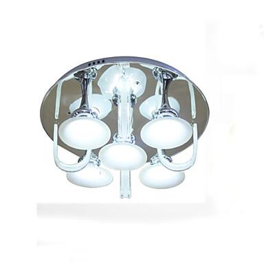 플러쉬 마운트 ,  글로브 페인팅 특색 for LED 금속 거실 침실 주방 학습 방 / 사무실 키즈 룸 현관 차고