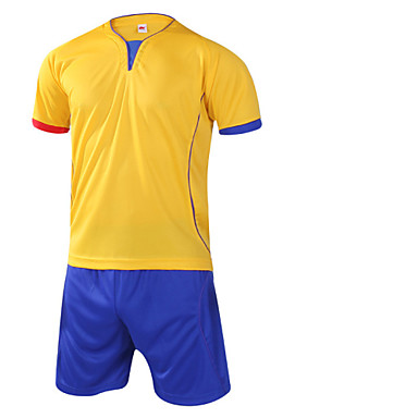 Uniszex Futball Ing + nadrág Ruházati kollekciók/ÖltönyökLégáteresztő Gyors szárítás Párásodás gátlás Magas légáteresztő képesség