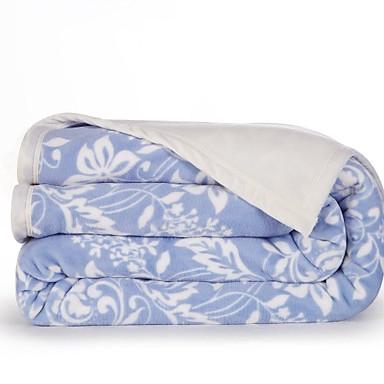 Flanelli Kukat / Kasvit 100% polyesteri peitot