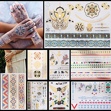 Totem Serier Multi-farget Papir tatovering forsyning komplett papir Tatoveringsmal