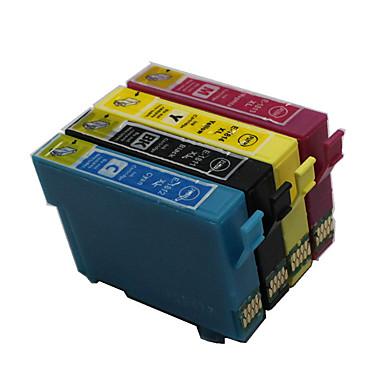 bloom®t1291-t1294 yhteensopiva mustepatruuna Epson stylus T26 / T27 / tx106 / tx109 / tx117 täynnä mustetta (4 väri 1 sarja)