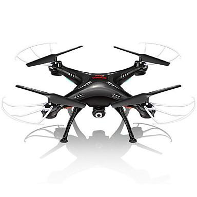 RC Drohne SYMA X5SW 4 Kan?le 6 Achsen 2.4G Mit 0.3MP HD-Kamera Ferngesteuerter Quadrocopter FPV / Kopfloser Modus / 360-Grad-Flip Flug