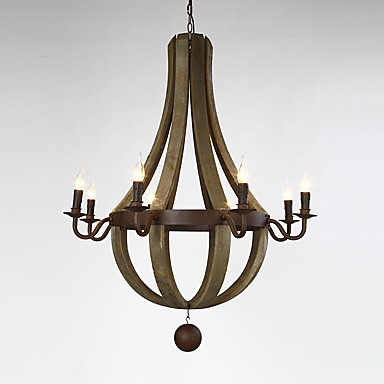 Kronleuchter ,  Traditionell-Klassisch Korrektur Artikel Eigenschaft for Ministil Holz/BambusWohnzimmer Schlafzimmer Esszimmer
