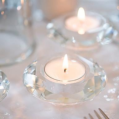 Asiatisches  Thema / Klassisches Thema / Märchen Thema / Babyparty Candle Favors-1 Stück / Set Kerzenhalter Nicht-individualisiert Weiß