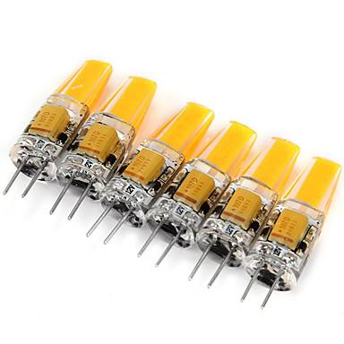 6stk 2W 200 lm G4 LED-lamper med G-sokkel MR11 1 leds COB Dekorativ Varm hvid Kold hvid AC 12V DC 12V