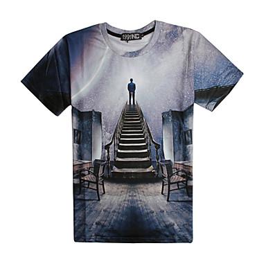 Inspiriert von Cosplay Andere Cosplay Anime Cosplay Kostüme Cosplay-T-Shirt Druck Kurzarm T-shirt Für Herrn Unisex