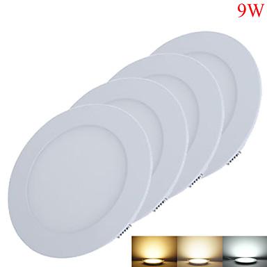 9W Instrumententafel-Leuchten 45pcs SMD 2835 800-850lm lm Warmes Weiß / Kühles Weiß / Natürliches Weiß Dekorativ DC 12 / DC 24 V 4 Stück
