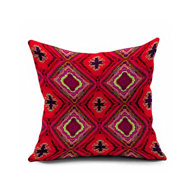 1 Stück Baumwolle/Leinen Kissenbezug, Geometrisch Modern/Zeitgenössisch