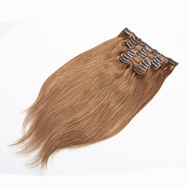 grampo em extensões de cabelo humano loiro grampo de cabelo humano em extensões 70g de platina grampo de cabelo humano loiro em