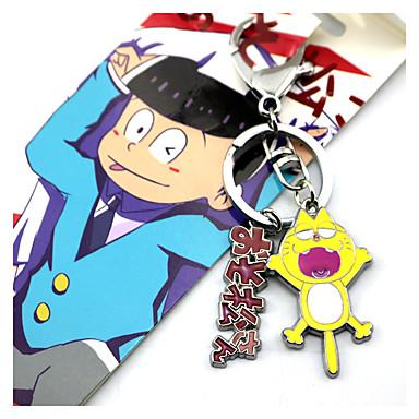Mer Tilbehør Inspirert av Cosplay Cosplay Anime Cosplay-tilbehør Nøkkelring Legering Herre / Dame ny