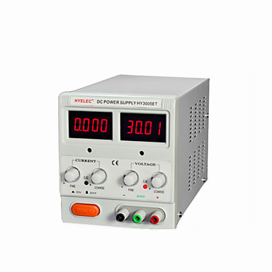 HYELEC HY3005ET DC Portable Power Supply with LED Indicators