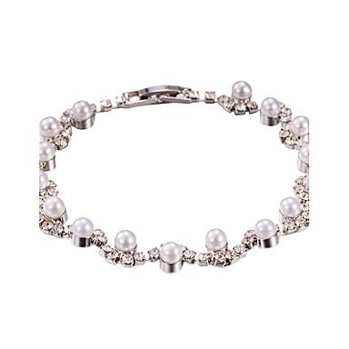 Pentru femei Argintiu Argintiu Componentă Tenis Brățări Bijuterii Argintiu Pentru Nuntă Petrecere Aniversare Zilnic Casual