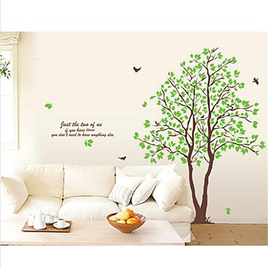 Botanisch Wand-Sticker Flugzeug-Wand Sticker Dekorative Wand Sticker, Vinyl Haus Dekoration Wandtattoo Wand