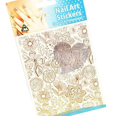 1 Nagel-Kunst-Dekoration Strassperlen Make-up kosmetische Nagelkunst Design