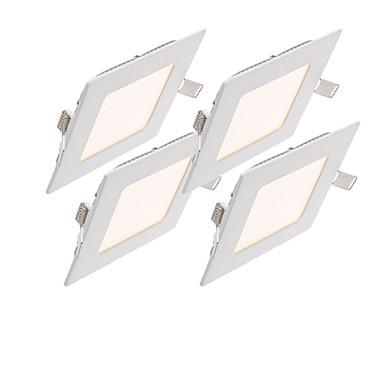 led panel lichter 60 stücke smd 2835 1000-1100lm warmweiß kaltweiß natürliche weiß 2800-6500 k dimmbar dekorative ac 85-265 v