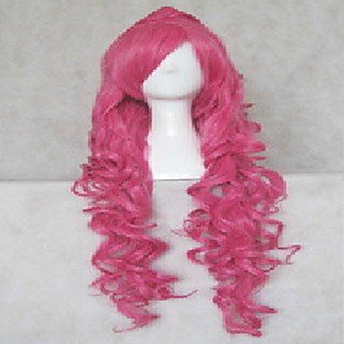 Perruque Synthétique / Perruques de Déguisement Ondulé / Ondulation Naturelle Cheveux Synthétiques Perruque Femme Perruque de Cosplay /