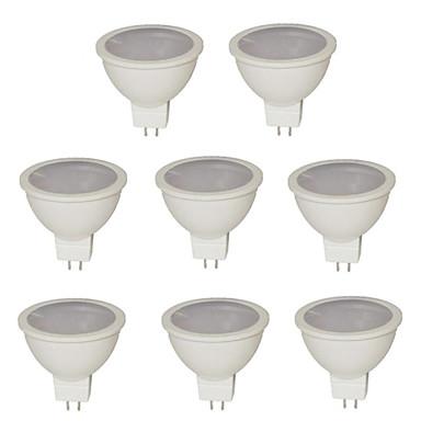 GU5.3(MR16) LED Spot Lampen MR16 21 Leds SMD 2835 Warmes Weiß Kühles Weiß Natürliches Weiß 500lm 2800-3000/6000-6500K DC 12 AC 12V