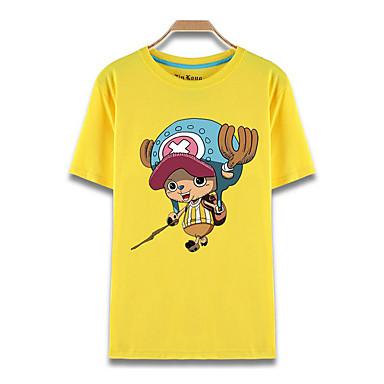 Inspiriert von One Piece Tony Tony Chopper Anime Cosplay Kostüme Cosplay-T-Shirt Druck Kurzarm Top Für Herrn Damen