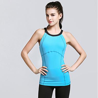 Damen Rückenfrei Yoga Kleidung - Purpur, Blau, Rosa Sport Modisch Kleidungs-Sets Yoga, Pilates, Übung & Fitness Ärmellos Sportkleidung