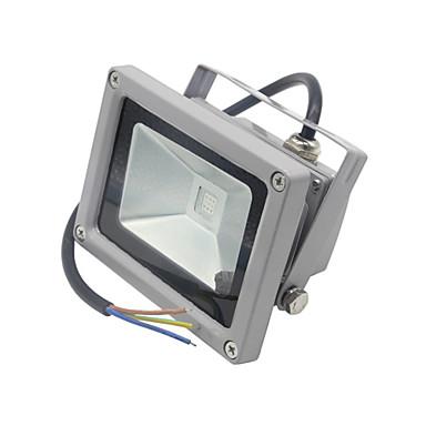 HRY 1000 lm תאורה שוטפת לד 1 נוריות לד משתלב עמיד במים דקורטיבי עובד עם שלט רחוק RGB AC 85-265V