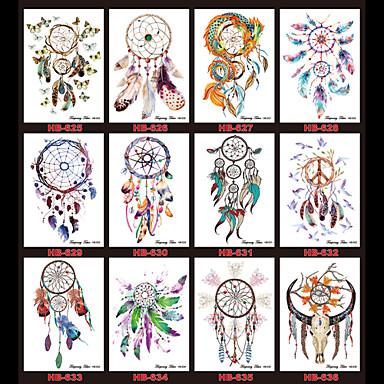 Toteemisarjat Monivärinen Paperi tatuointi tarjonta täydellinen paperi Tattoo Stencil