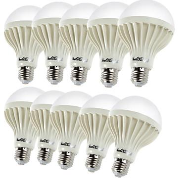 YouOKLight 450 lm E26/E27 LED-pallolamput B 9 ledit SMD 5630 Koristeltu Lämmin valkoinen AC 220-240V