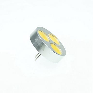 SENCART 4W 3000/6000/6500lm G4 LED Spot Işıkları MR11 3 LED Boncuklar COB Kısılabilir Sıcak Beyaz / Serin Beyaz / Doğal Beyaz 12V / RoHs