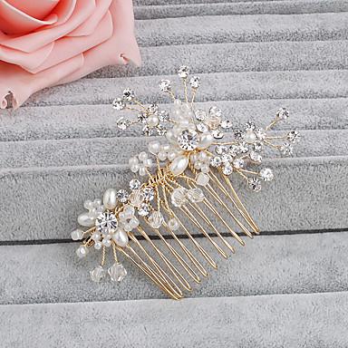 gyöngyház fésű headpiece esküvői party elegáns női stílusban