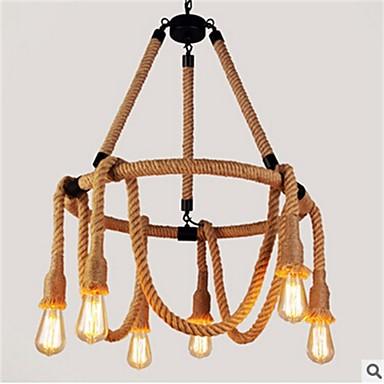 Rustikal/ Ländlich Pendelleuchten Für Wohnzimmer Schlafzimmer Esszimmer Studierzimmer/Büro Spielraum Korridor Glühbirne nicht inklusive