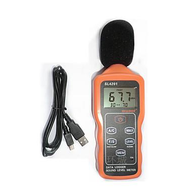 sampo sl4201 oransje for lyd nivåmåler