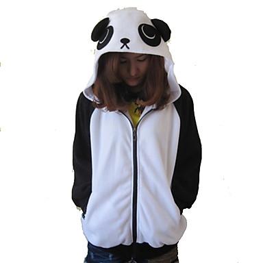 Kigurumi Pijamale Panda Leotard/Onesie Festival/Sărbătoare Sleepwear Pentru Animale Halloween Peteci Lână polară Kigurumi Pentru Unisex
