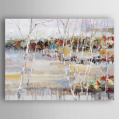 Handgemalte Landschaft / Abstrakte LandschaftModern Ein Panel Leinwand Hang-Ölgemälde For Haus Dekoration