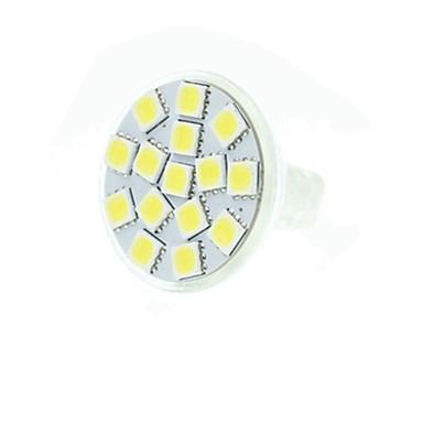 SENCART 5 W 3500/6000/6500 lm GU4(MR11) LED szpotlámpák MR11 15 led SMD 5060 Tompítható Dekoratív Meleg fehér Hideg fehér Természetes