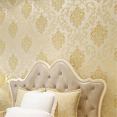 Art Deco Haus Dekoration Klassisch Wandverkleidung, Nicht-gewebtes Papier Stoff Klebstoff erforderlich Tapete, Zimmerwandbespannung