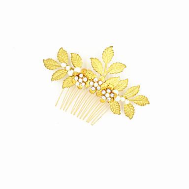 Alloy Hair Peppers Headpiece Wedding Party elegante estilo feminino