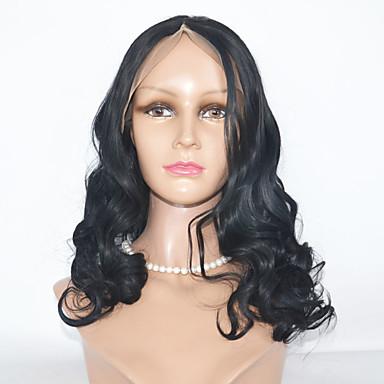 Synthetische Lace Front Perücken Große Wellen Damen Spitzenfront Natürliche Perücke Synthetische Haare