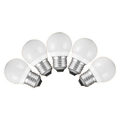 E26/E27 LED gömbbúrás izzók G60 5 SMD 3528 200 lm Meleg fehér Hideg fehér AC 220-240 V 5 db.
