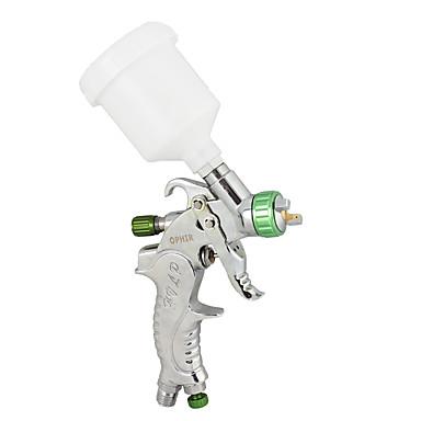 mini detalj touch-up HVLP sprøyte 1.0mm spiss basecoat auto maling med plastkopp