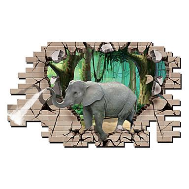 Tiere / Botanisch / Cartoon Design / Romantik / Mode / Feiertage / Landschaft / Formen / Transport / Fantasie / 3D Wand-Sticker3D Wand
