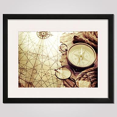 Gerahmte Printkunst Gerahmtes Leinenbild Stillleben Freizeit Wandkunst, PVC Stoff Mit Feld Haus Dekoration Rand Kunst Wohnzimmer