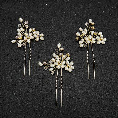 Perle Künstliche Perle Haarklammer Kopfschmuck