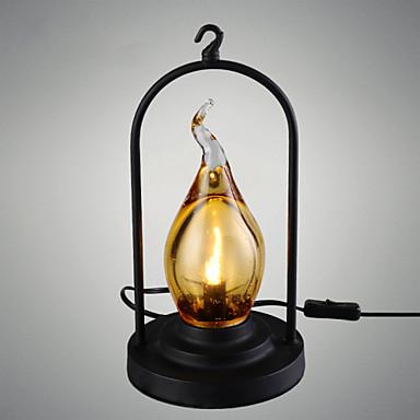 Wall Light Ylöspäin valot Työpöydän lamppu 110-120V 220-240V G9 Rustiikki Traditionaalinen/klassinen Maalaus