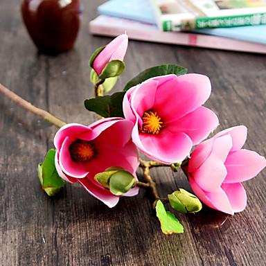 Seide Magnolie künstliche Blumen Hochzeit Blumen 1pc / set