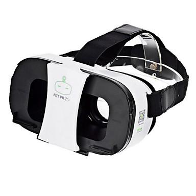 FIIT vr 2s realidade óculos capacete 3d de vídeo virtuais - branco + preto