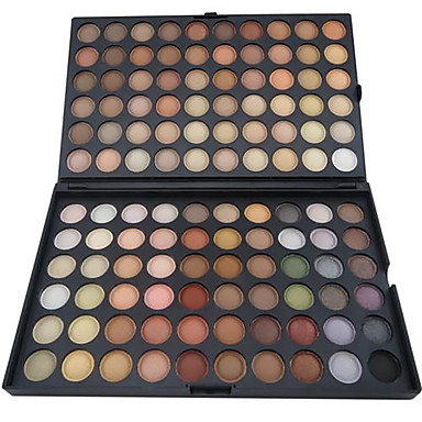 120 Farben Lidschatten / Puder Auge Alltag Make-up / Halloween Make-up / Party Make-up Bilden Kosmetikum / Matt