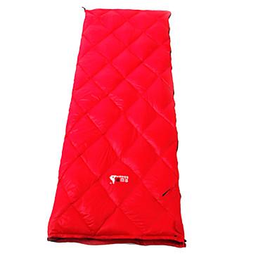 Schlafsack Rechteckiger Schlafsack Einzelbett(150 x 200 cm) # Hohlbaumwolle 400g 195X72 Wandern / CampingWasserdicht / Atmungsaktivität /