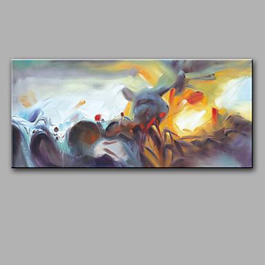 Handgemalte Fantasie Horizontal, Modern Segeltuch Hang-Ölgemälde Haus Dekoration Ein Panel