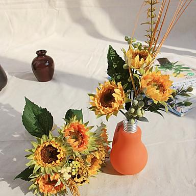 Seide Sonnenblumen Kunstblumen 1pc / set